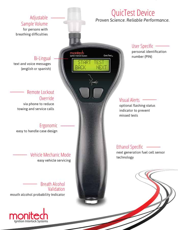 Ignition Interlock Device Features