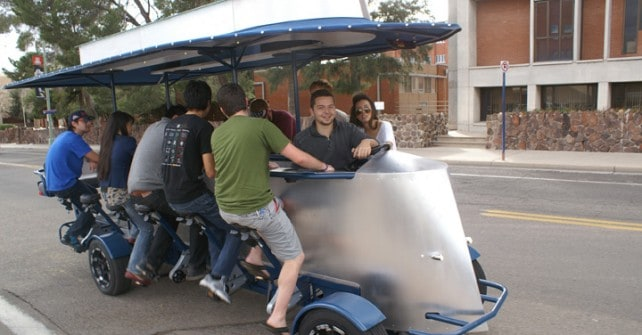 Does the Party Bike Let Tucson Drink on the RoadMonitech